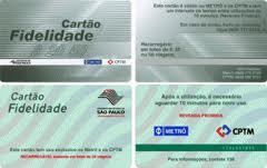 CARTÃO FIDELIDADE METRÔ
