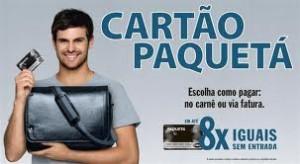 CARTÃO PAQUETA