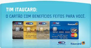 Cartão Tim Itaucard