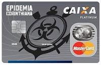 Cartão Epidemia Corinthiana CAIXA